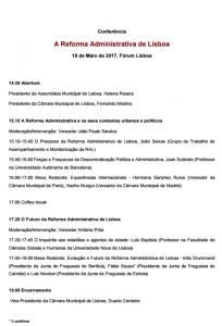 A Reforma Administrativa Lisboa
