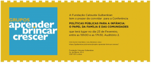 Politicas Publicas para a infancia
