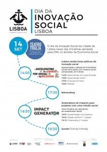 Programa Dia da Inovação Social em Lisboa